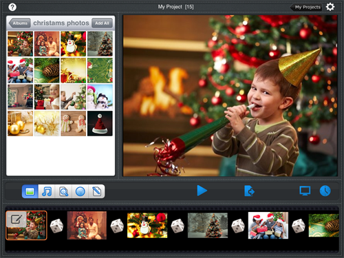 christmas music for slideshow