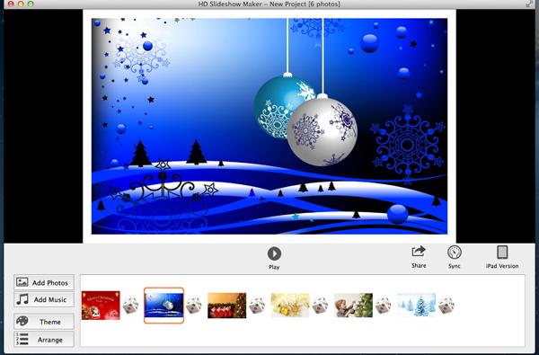mac new year slideshow