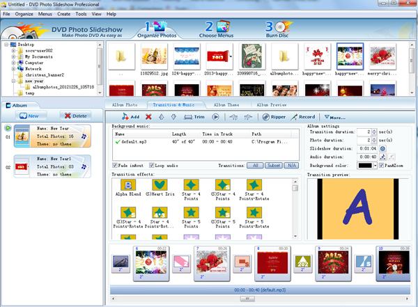 dvd photo slideshow