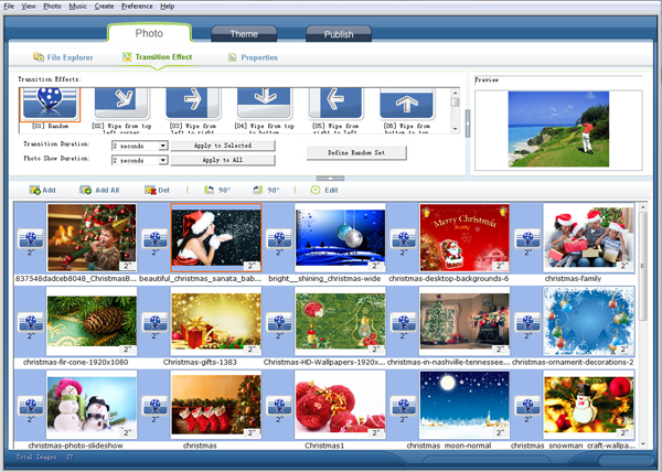 import and organize photos