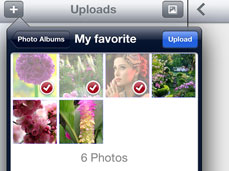 choose ipad photos and videos