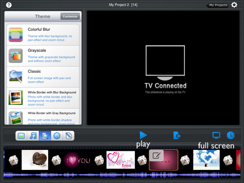stream ipad photos to tv
