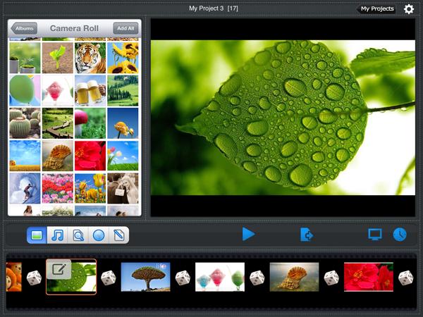 slideshow app for photographer