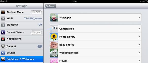 set ipad wallpaper pic