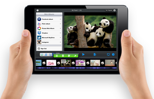iPad mini slideshow app