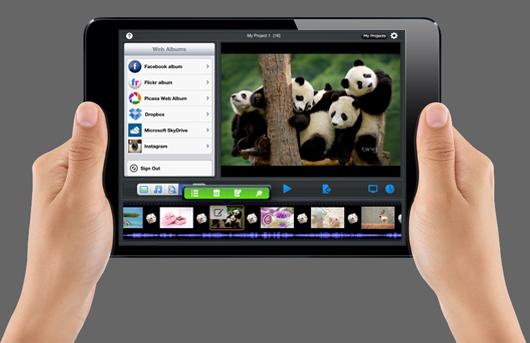 iPad mini slideshow app