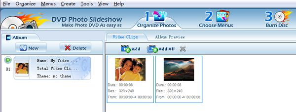 Put slideshows into joiner tool
