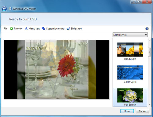 free burn video to dvd on windows