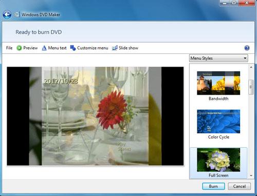 free burn video to dvd on windows