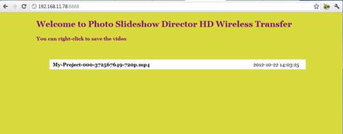 download ipad slideshow to pc