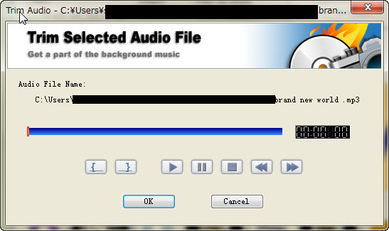 FreeTrim MP3 Trim MP3 or other audio files to delete the unwanted part